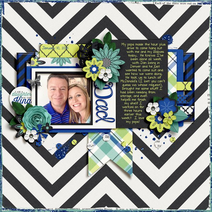 Thirty-One by Libby Pritchett #digitalscrapbooking