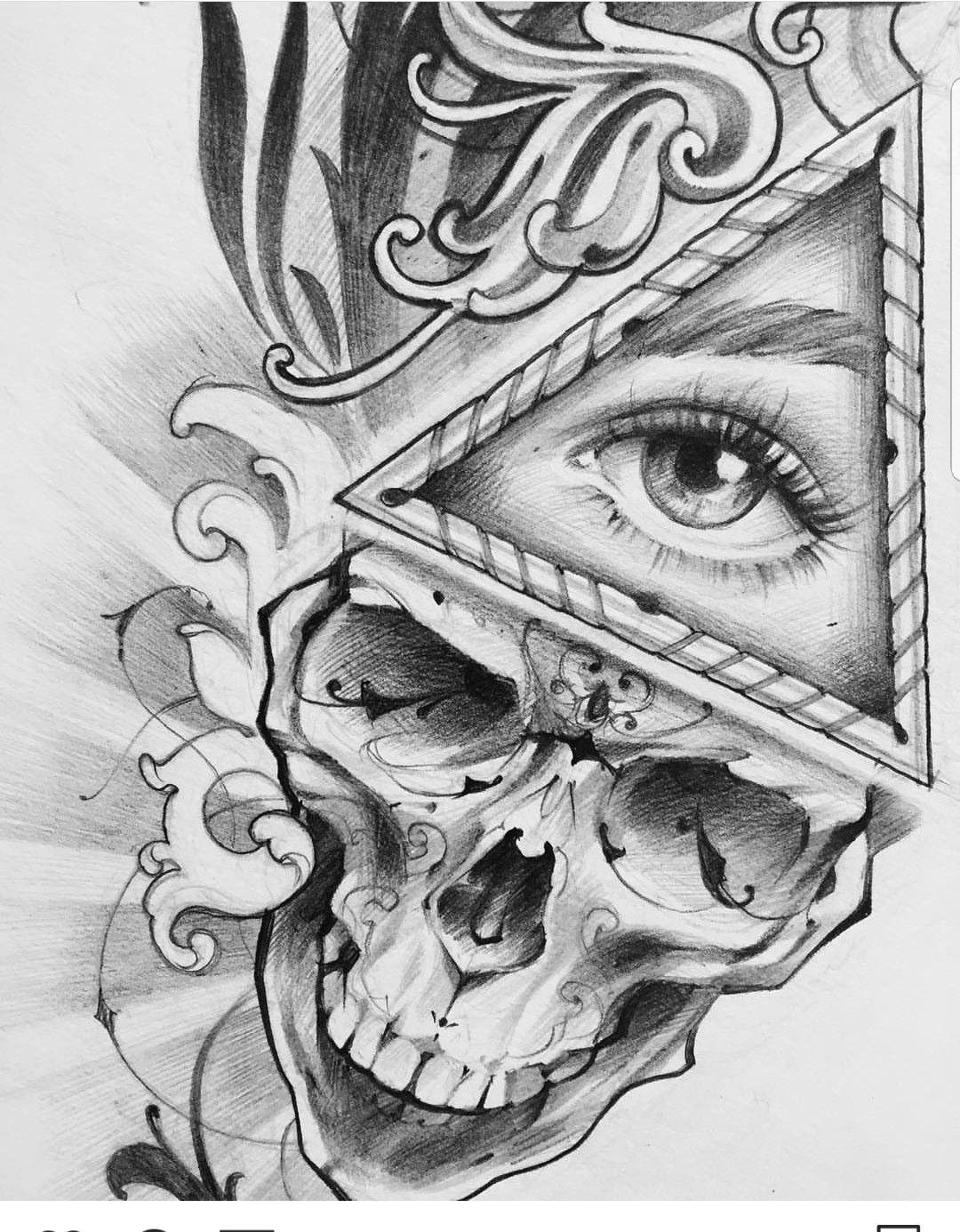Illuminati eye tattoo image by Cj Molina on Art Skull