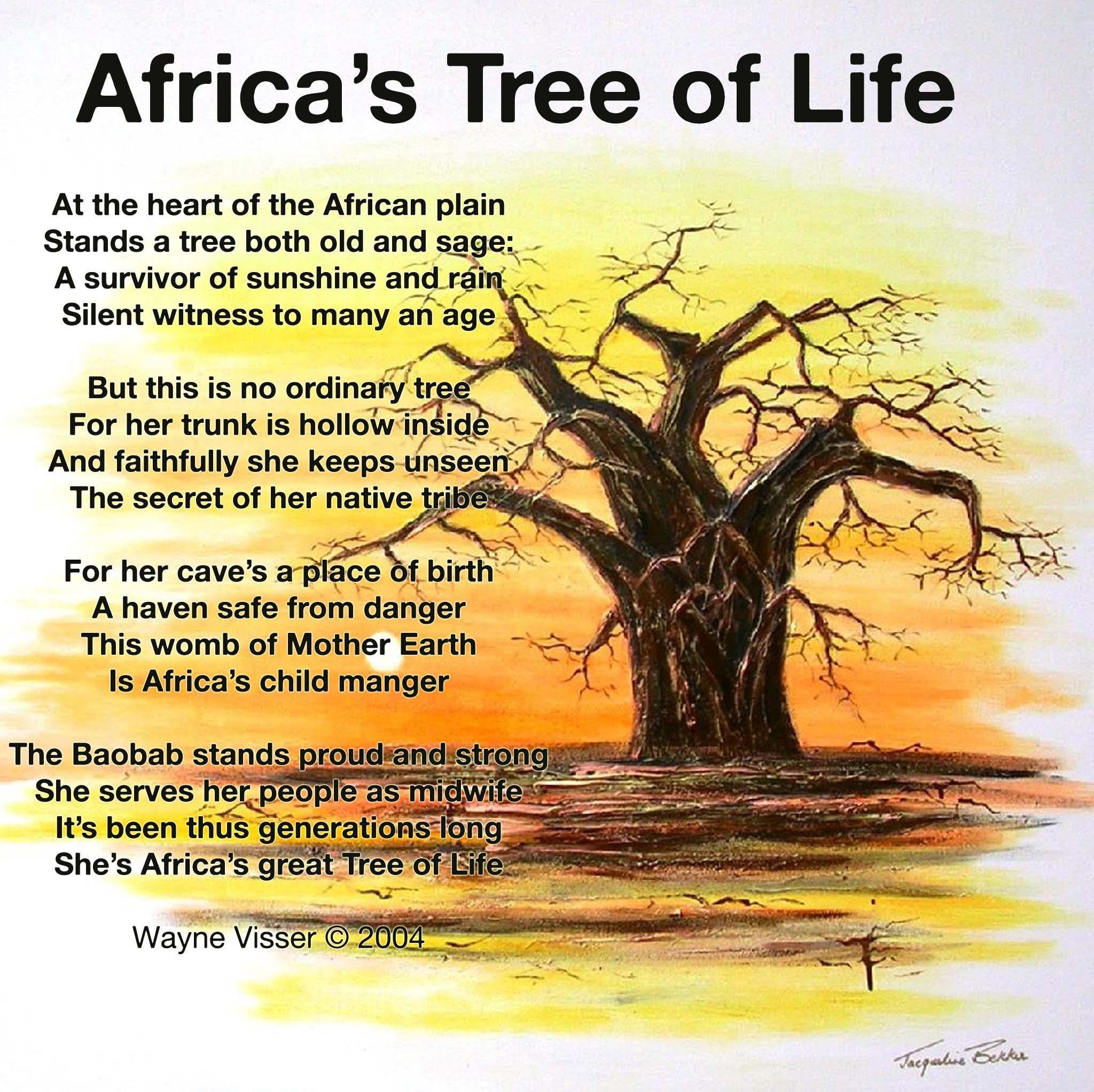 Baobab Poem