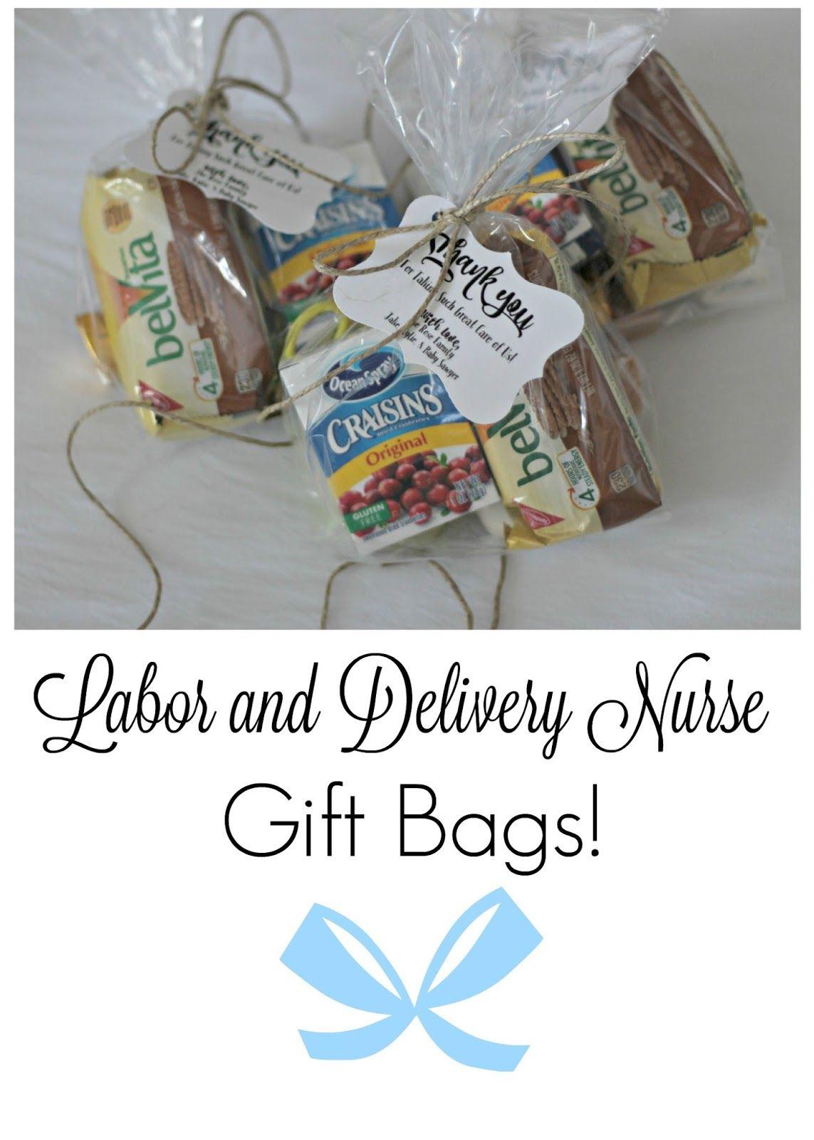 Labor delivery nurse gift bags labor delivery nurse