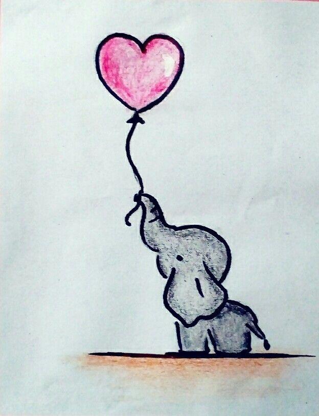 Elefante Dibujos Bonitos Dibujos Dibujos Simples Tumblr