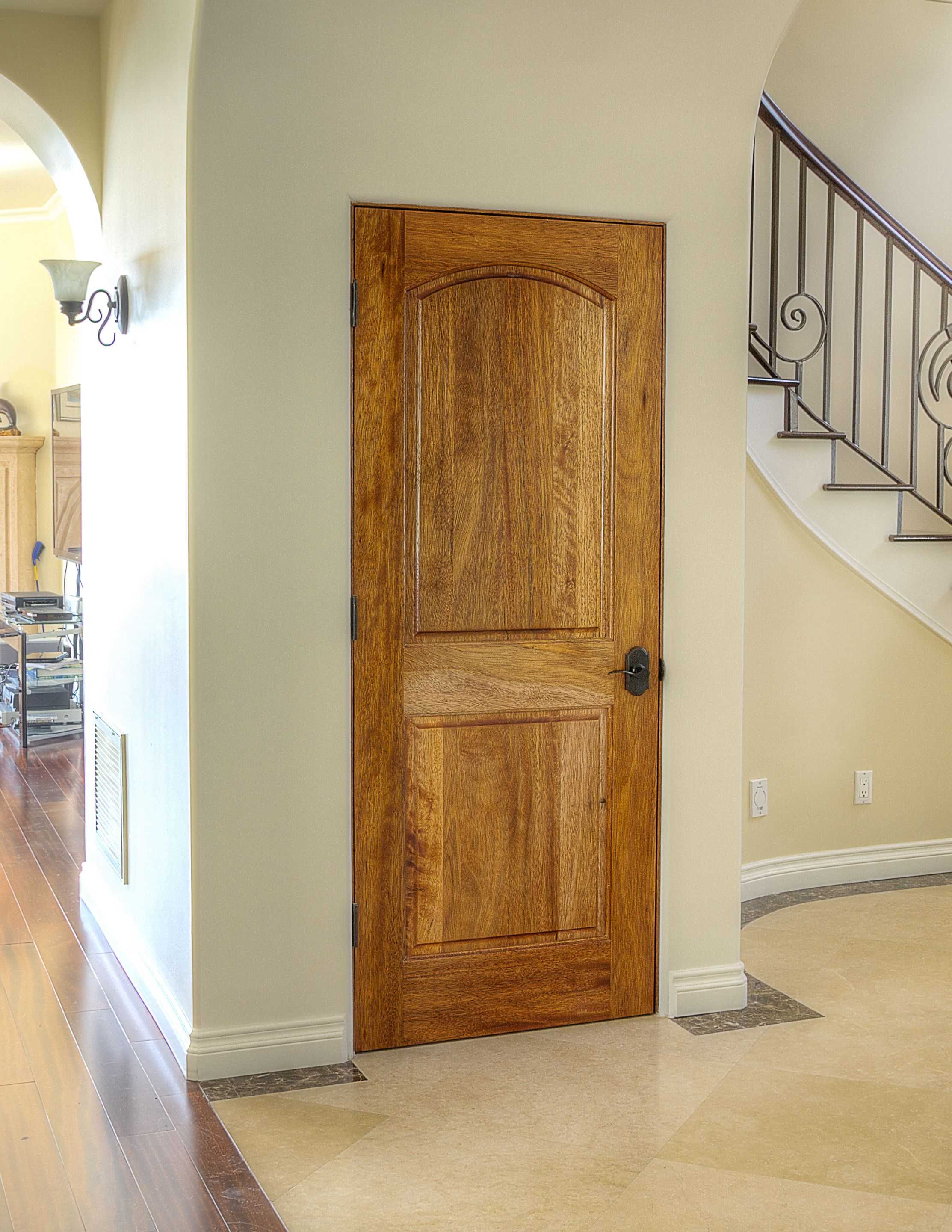 Ma230 Mahogany 2 Panel Arched Door 1 3 4 With Images Modern Home Interior Design Doors Interior Modern Houses Interior