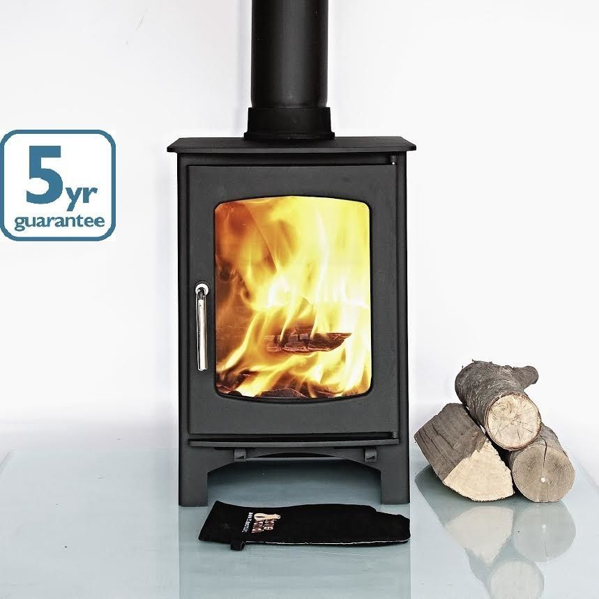 5KW OTTAWA CURVE, CLEAN BURN Contemporary Woodburning Stove Stoves Multi  Fuel in Home, Furniture - 5KW OTTAWA CURVE, CLEAN BURN Contemporary Woodburning Stove Stoves