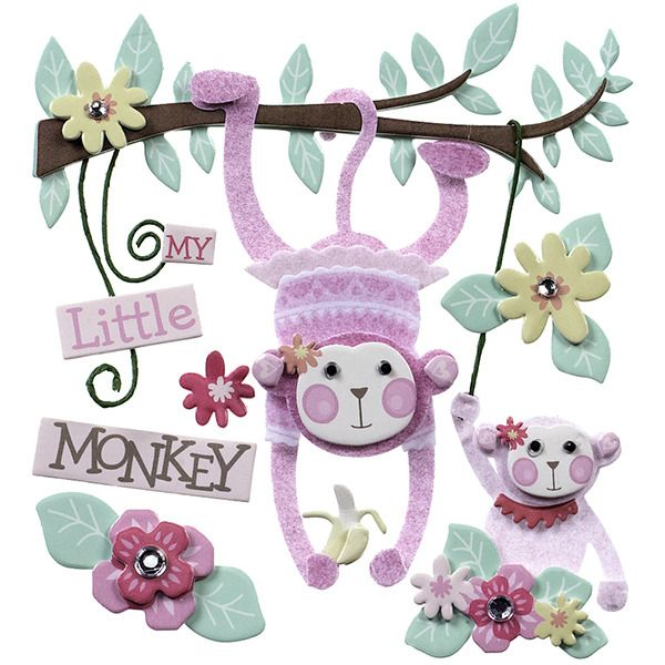Jolee/'s BABY GIRL BANNER Boutique Stickers SWEET BABY GIRL NEW