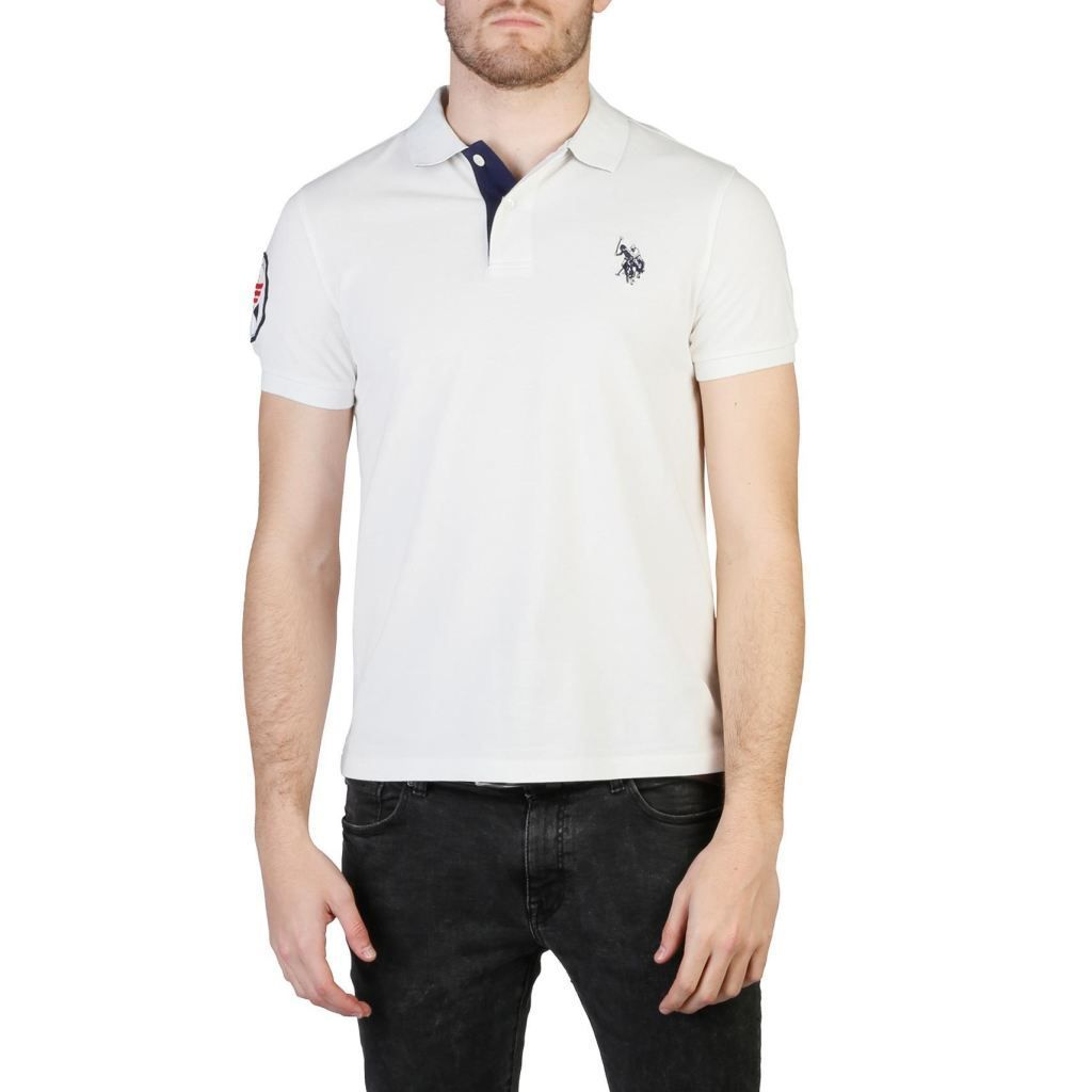 Us Polo Men White Polo Products Pinterest Polo Shirts And