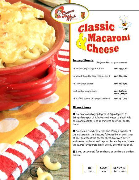 Classic Macaroni & Cheese Recipe!