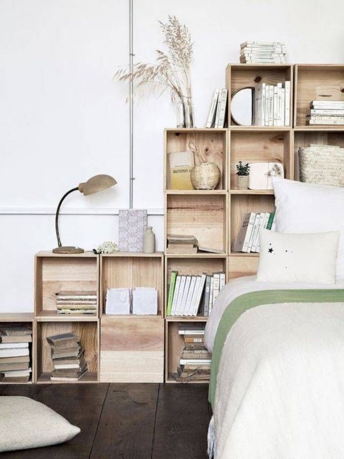 linge de lit accessoires ▷ 1001 + projets et idées géniales de tête de lit à faire soi  linge de lit accessoires