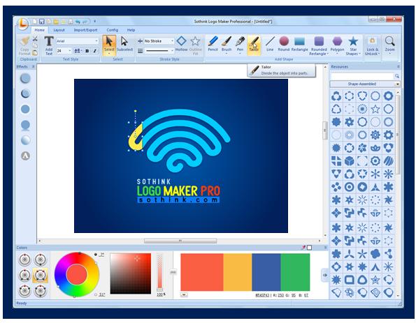 Make your own logo with Sothink's logo design maker