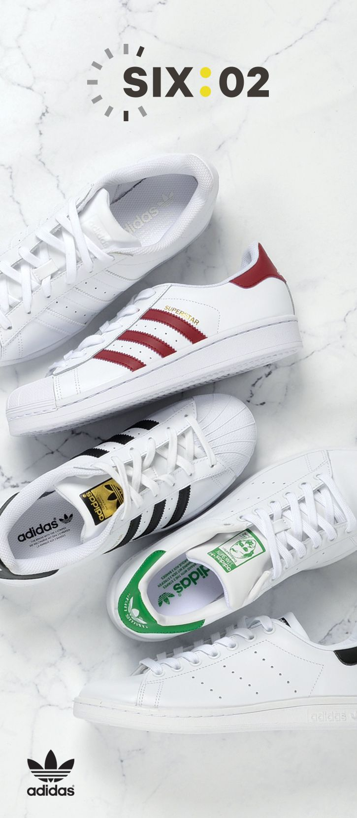lowest price 320b7 a637a Always sporting the 3 stripes. Pick up the latest adidas Originals styles  now at at SIX02!