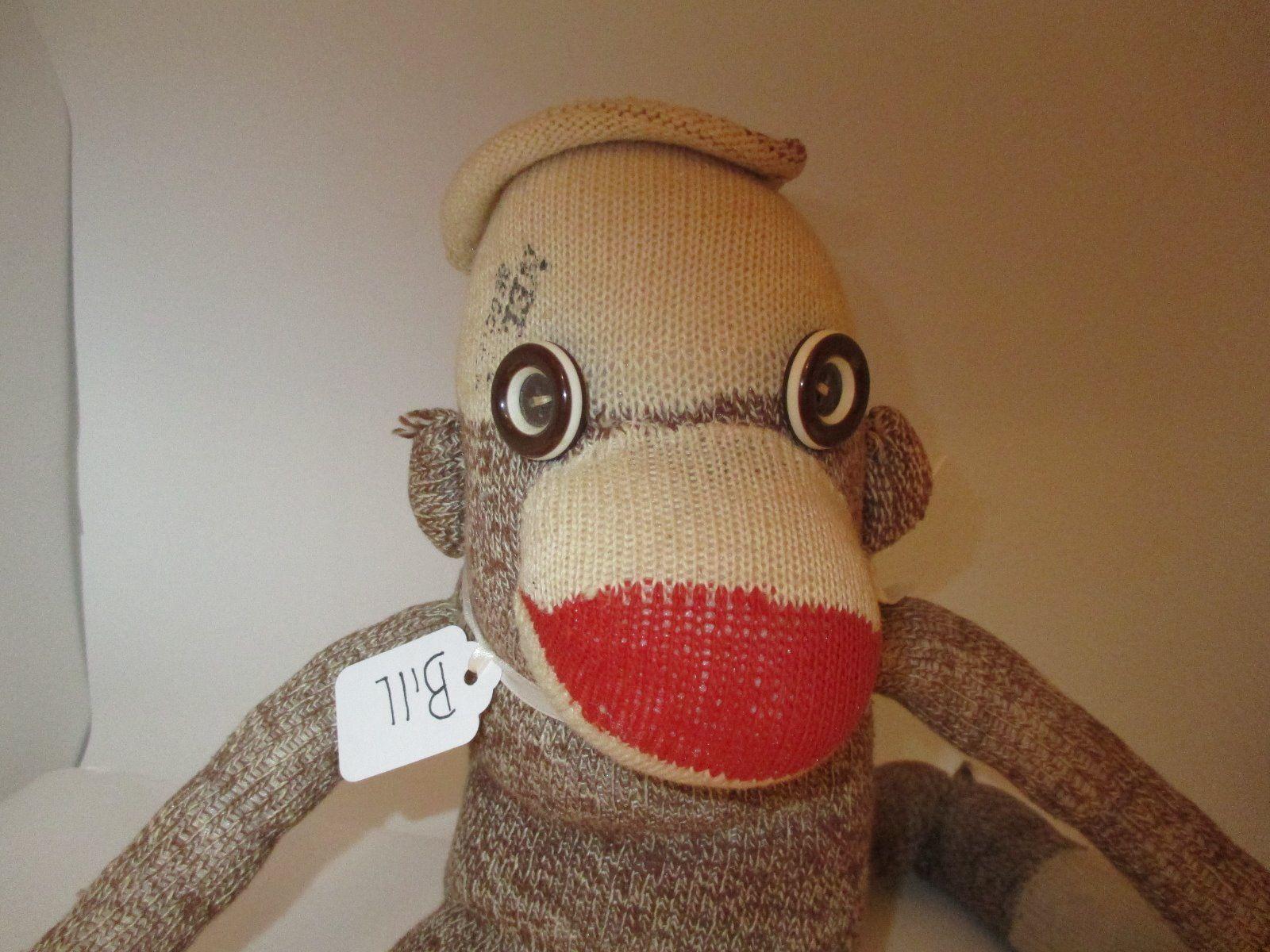 You migraine Sock puppy toy vintage