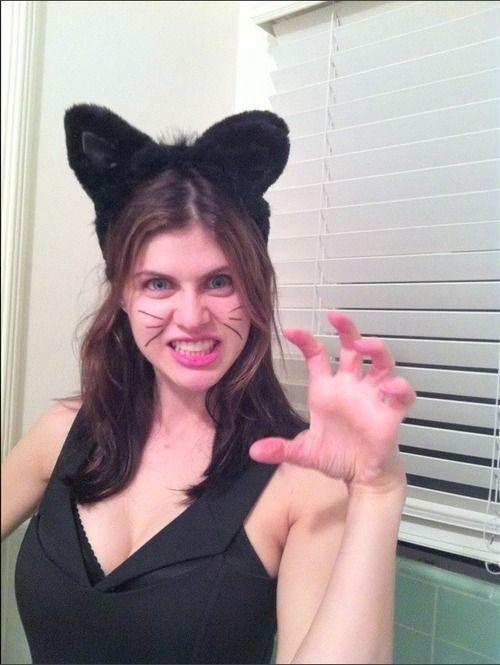 Image Result For Alexandra Daddario Cat Alexandra Daddario
