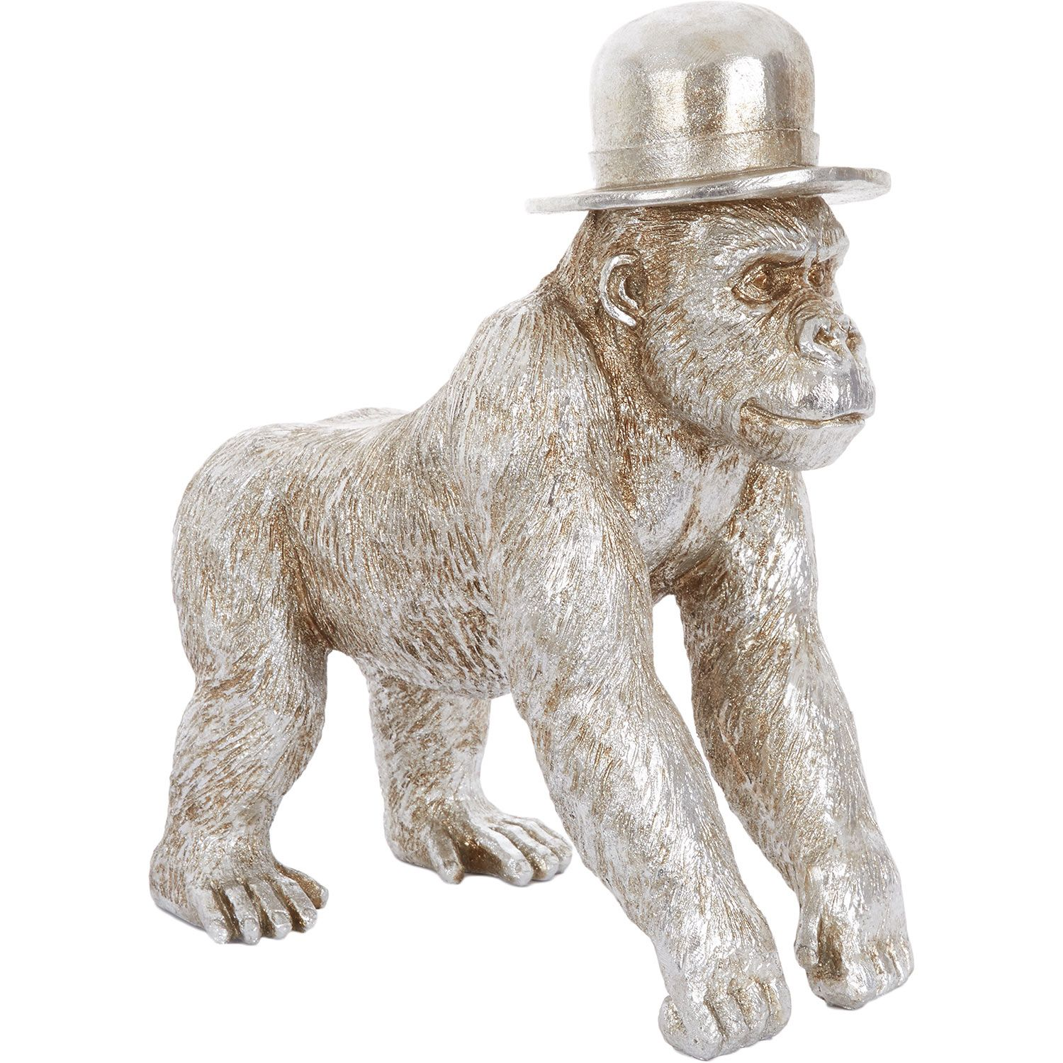 Miniature Spun Cotton Gorilla Figure Vintage by Crystal