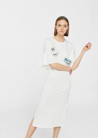 ce47d043bf Decorative patches dress - f foLong Woman