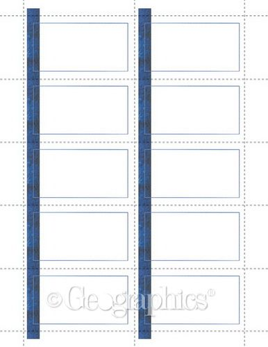 Blue line business cards 2x35 250pk business cards pinterest buy blue line printable business cards 35287 from geographics and save free templates clip art and wording wajeb Images