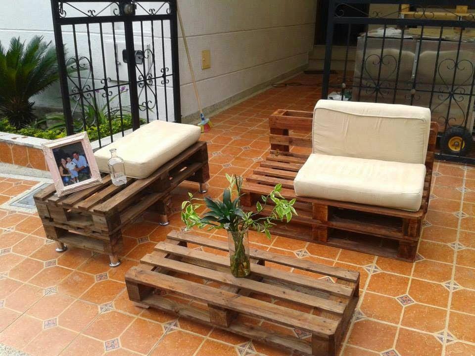 Muebles con estibas google search estibas pinterest for Muebles para patios interiores