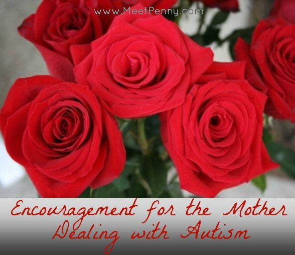 Encouragement for the mother dealing with Autism