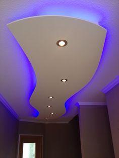 lisego deckensegel lisegowave 400cm x 80cm, indirekte beleuchtung, Wohnzimmer