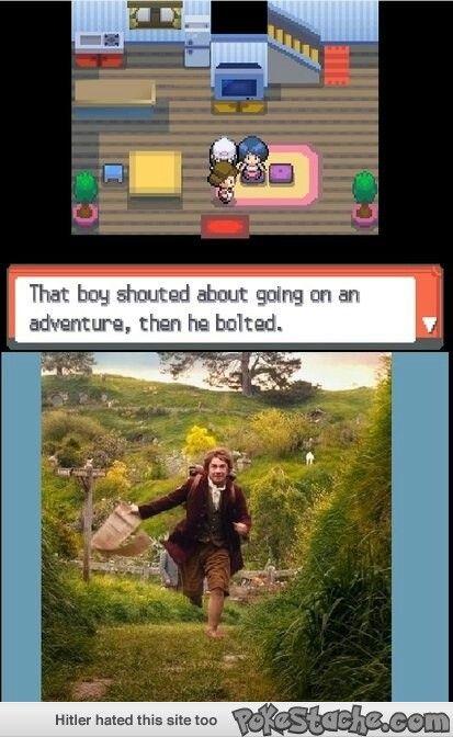 Lol, just like Bilbo