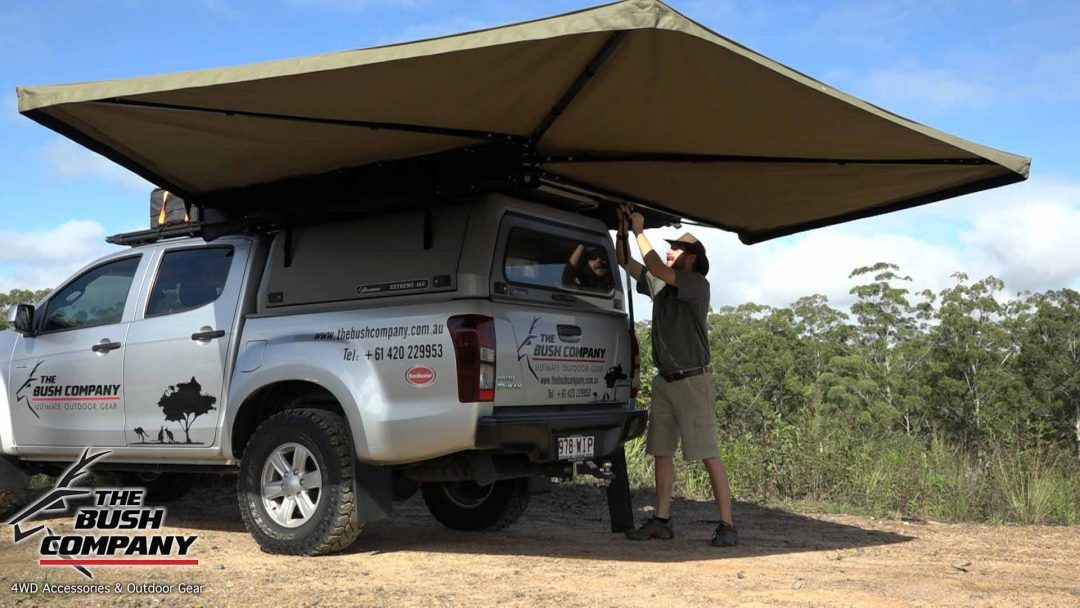270 Gull Wing Awning Review The Bush Company Roof Tent Awning Truck Camper Shells