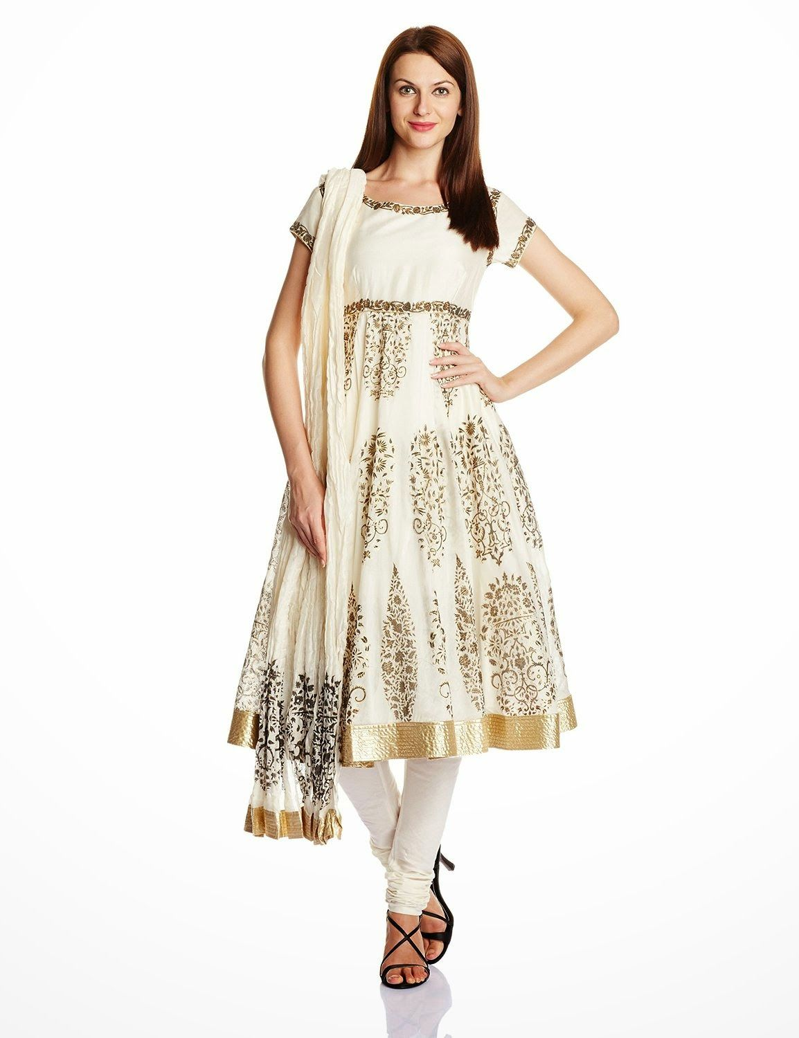 440c562e22a2 Biba By Rohit Bal Women's Cotton Silk Anarkali Salwar Suit Anarkali Dress,  Anarkali Suits,