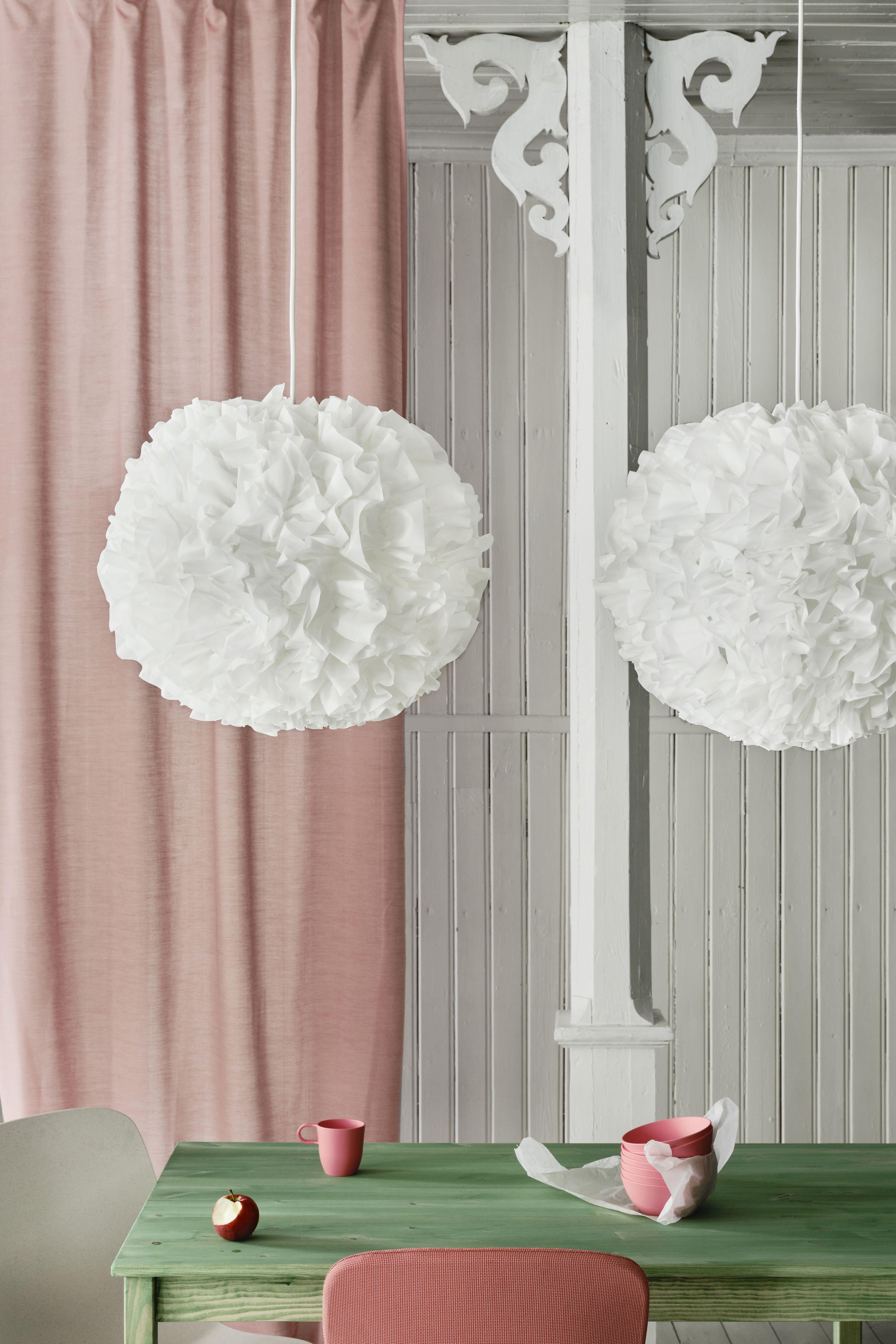 Vindkast Hangeleuchte Weiss 50 Cm Ikea Deutschland Anhanger Lampen Hangeleuchte Deckenhaken