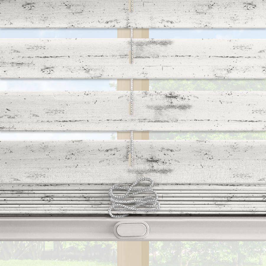 2 Artisan American Distressed Wood Blinds Rustic Window Treatments Wood Blinds White Wood Blinds