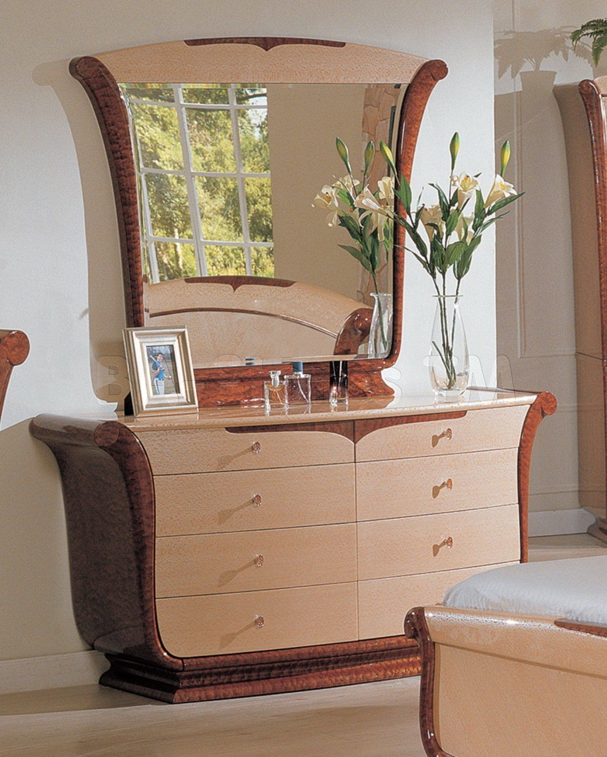 furniture-antique-modern-bedroom-vanity-makeup-dresser-with-mirror ...