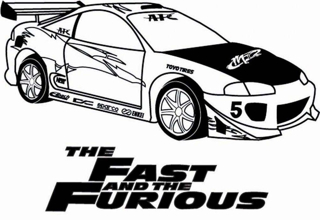Fast And Furious Coloring Pages Com Imagens Desenhos