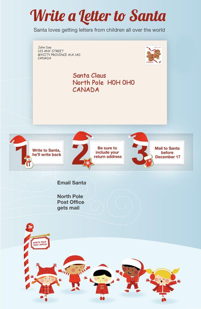 Canada Post Write To Santa