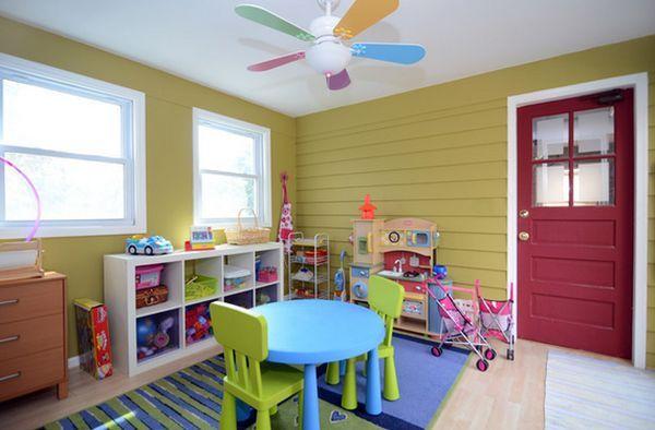 24 Idees Decoration De Salles De Jeux Pour Enfants Kinderzimmer