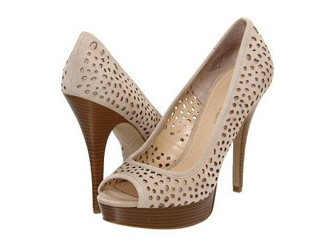 Enzo Angiolini Women's Sully9 Platform Pump,Natural Suede,