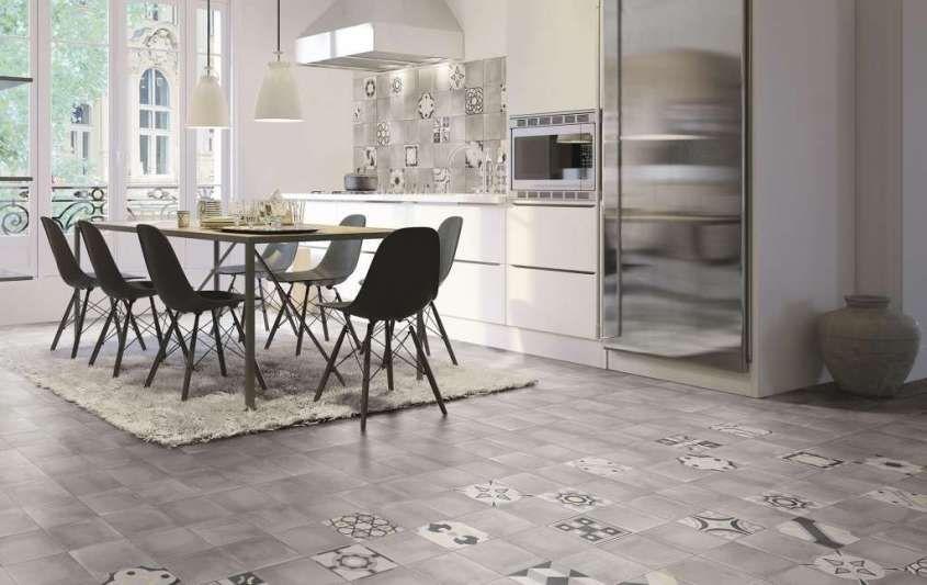 Cementine in cucina dal pavimento ai rivestimenti le idee