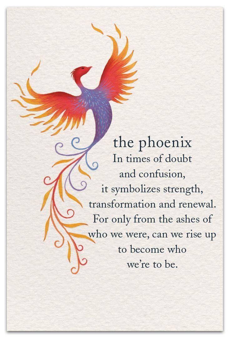 Phoenix | Support & Encouragement Card | cardthartic.com