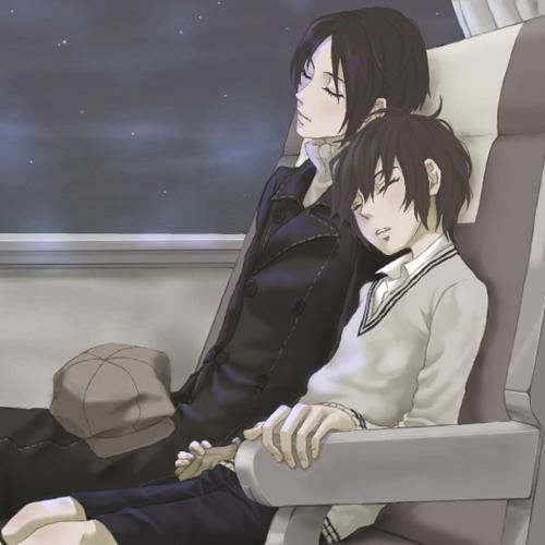 Yoite & Miharu... i dont quite ship this but i feel like i definitely would if i was a fujoshi...