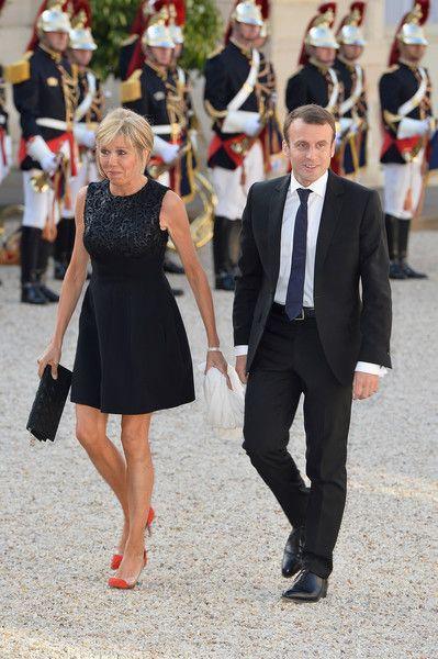 Brigitte Trogneux Photos Photos King Felipe Of Spain And Queen Letizia Of Spain On Official Visit In France Day 1 Fashion Brigitte Queen Letizia