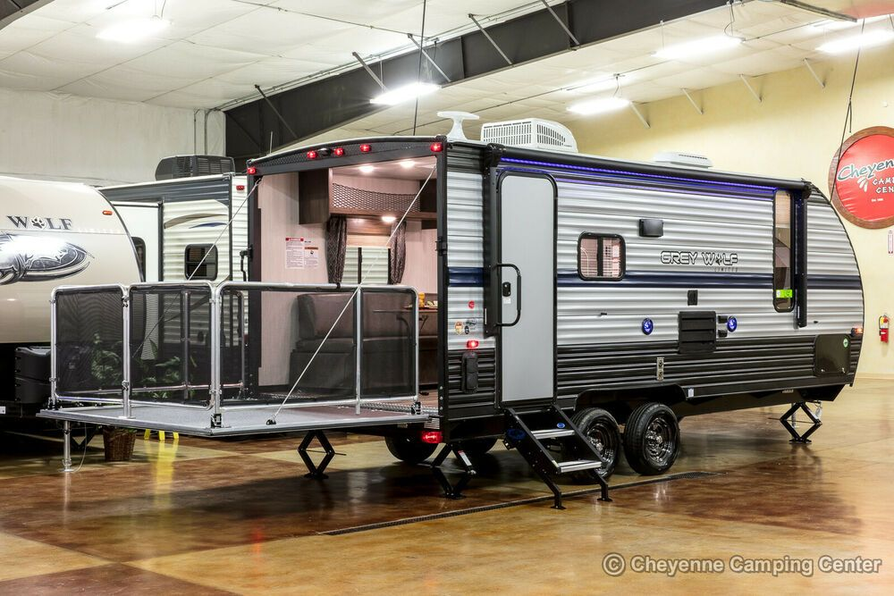 2019 Forest River Cherokee Grey Wolf 19rr Toy Hauler Travel