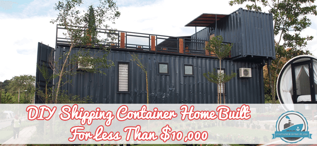 Diy Shipping Container Home Built For Less Than 10 000 Blog Cover Shipping Container Homes Container House Shipping Container