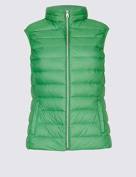 39784807f56 Marks and Spencer Lightweight Down & Feather Gilet with Stormwearâ ...