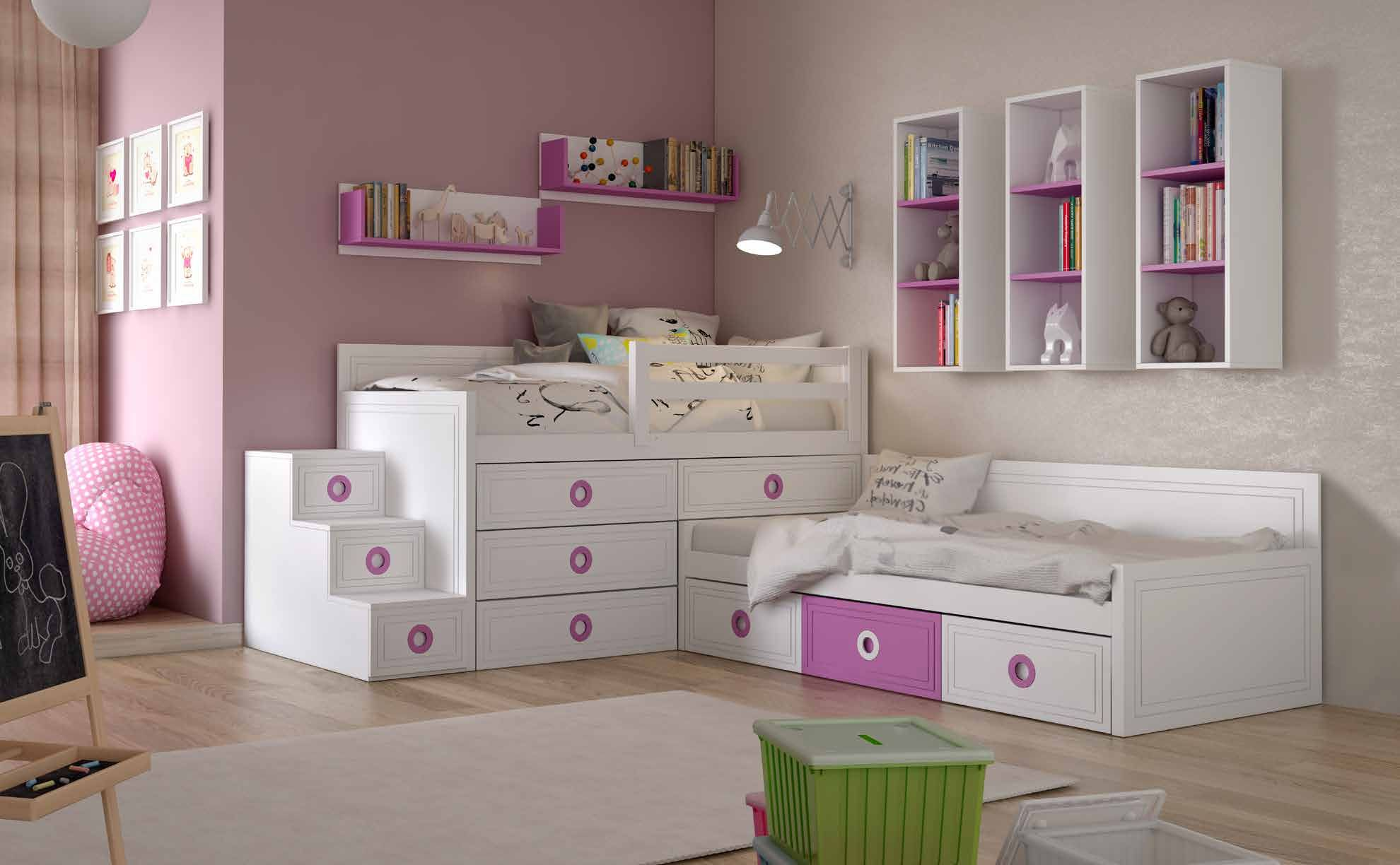 Dormitorio juvenil boreal 3 dlp mobiliario en 2019 dormitorios juveniles - Dormitorios juveniles minimalistas ...
