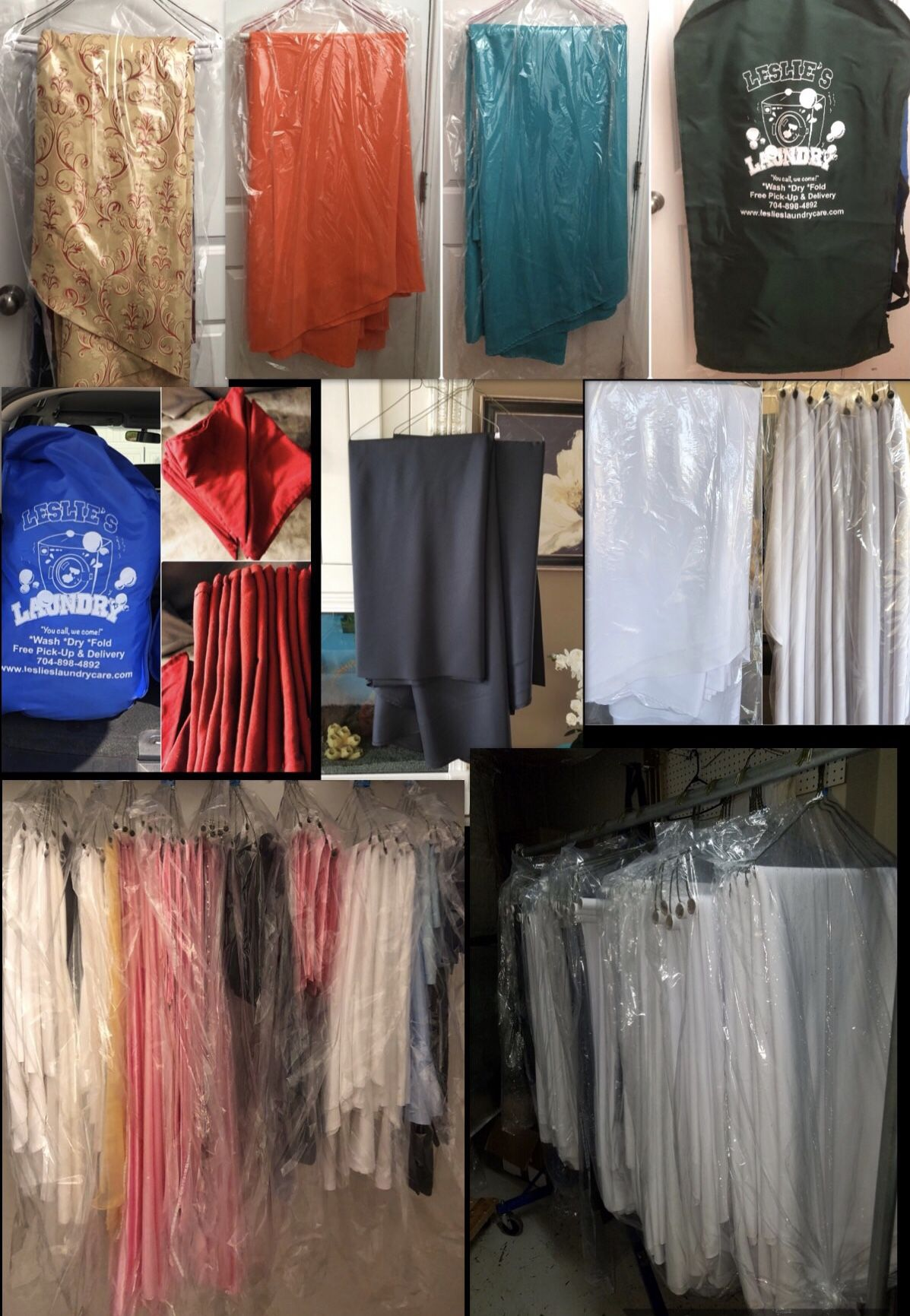 Full Service Mobile Laundry And Dry Cleaner Right To Your Doorstep