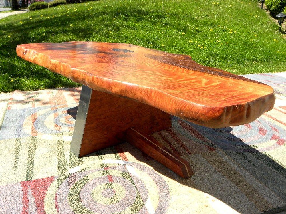 Nakashima Redwood Burl Table TABLE REDWOOD