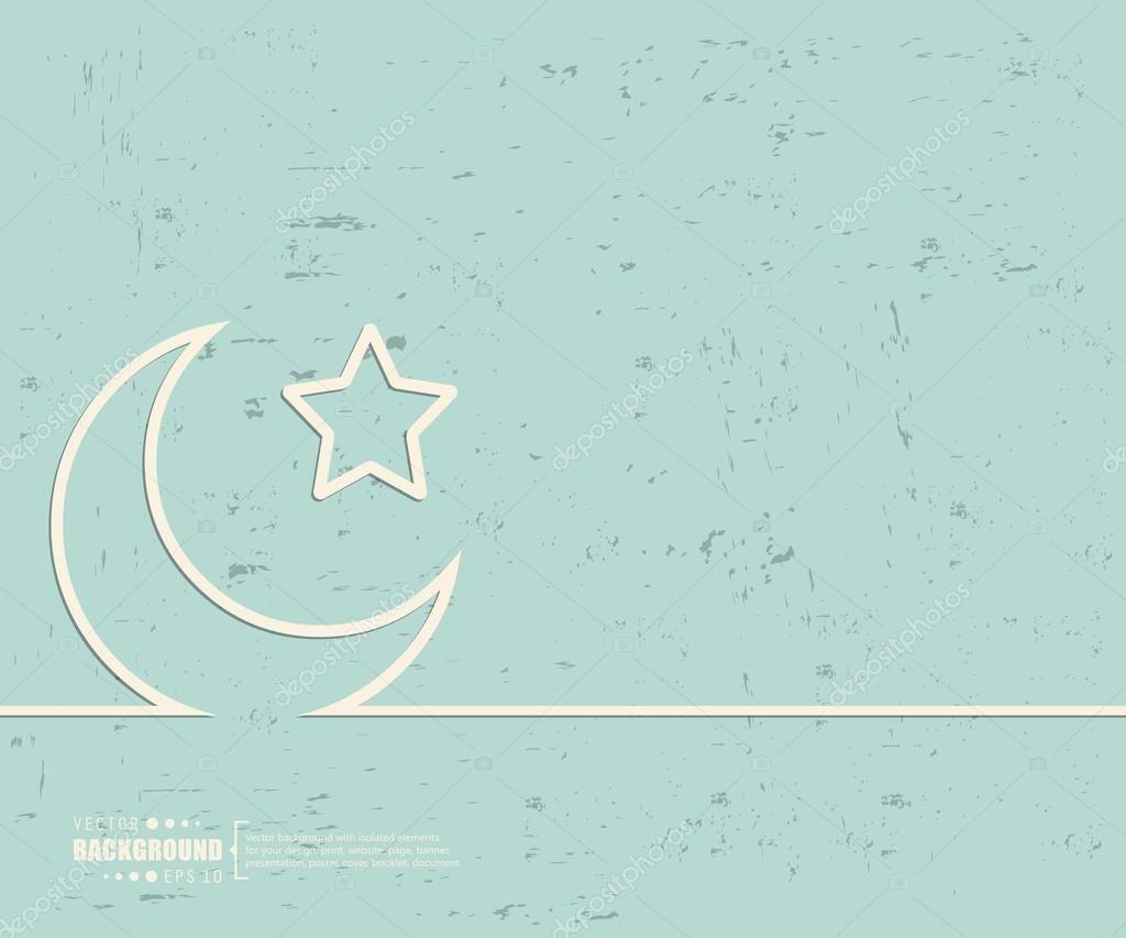 Creative Vector Crescent Islamic Art Illustration In 2020 Anime Wallpaper Islamic Wallpaper Cartoon Wallpaper
