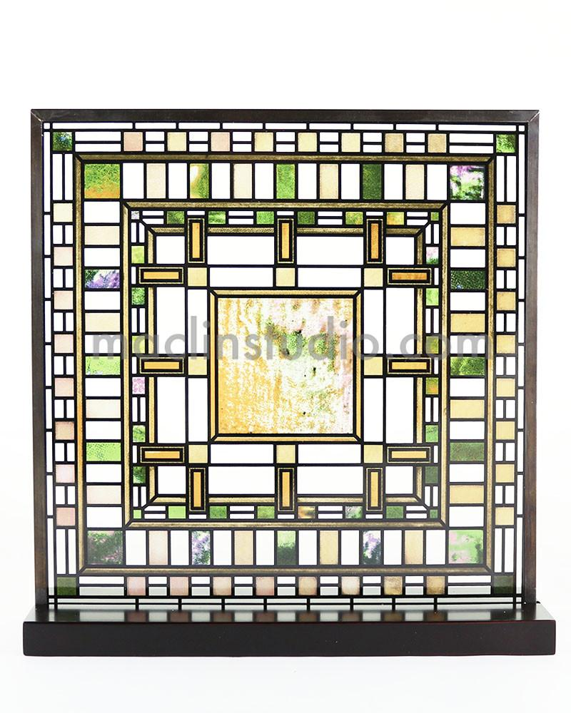 Frank Lloyd Wright D D Martin House Stained Glass