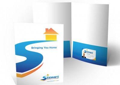 Stewart Moving And Storage Pocket Folders River City