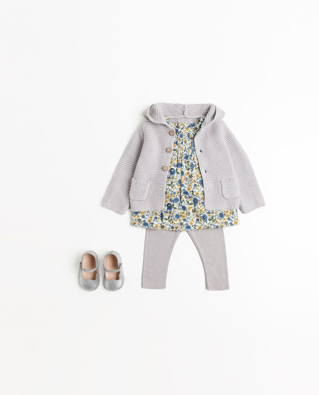 bbd2bd8643e9 Image 1 of from Zara Baby Girl Fall Clothes, Fall Baby Outfits, Zara Baby