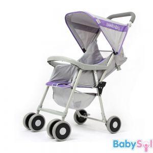 Xe đẩy Seebaby QQ2 có thiết kế với tư thế ngả tối đa 150 độ dành cho bé sơ sinh từ 3 tháng -18kg.  http://www.babysol.vn/xe-day-seebaby-qq2.html