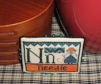 N is for Needle Barrick Samplers Design (Carriage House Samplings