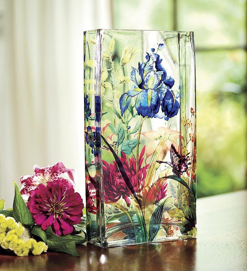 Pin by The Gardening Cook - Recipes Just 4u - Always The Holidays on Blown Gl Flower Vase on ve flower, dz flower, mn flower, sc flower, sd flower, uk flower, ls flower, va flower, na flower, ca flower, pa flower, vi flower,
