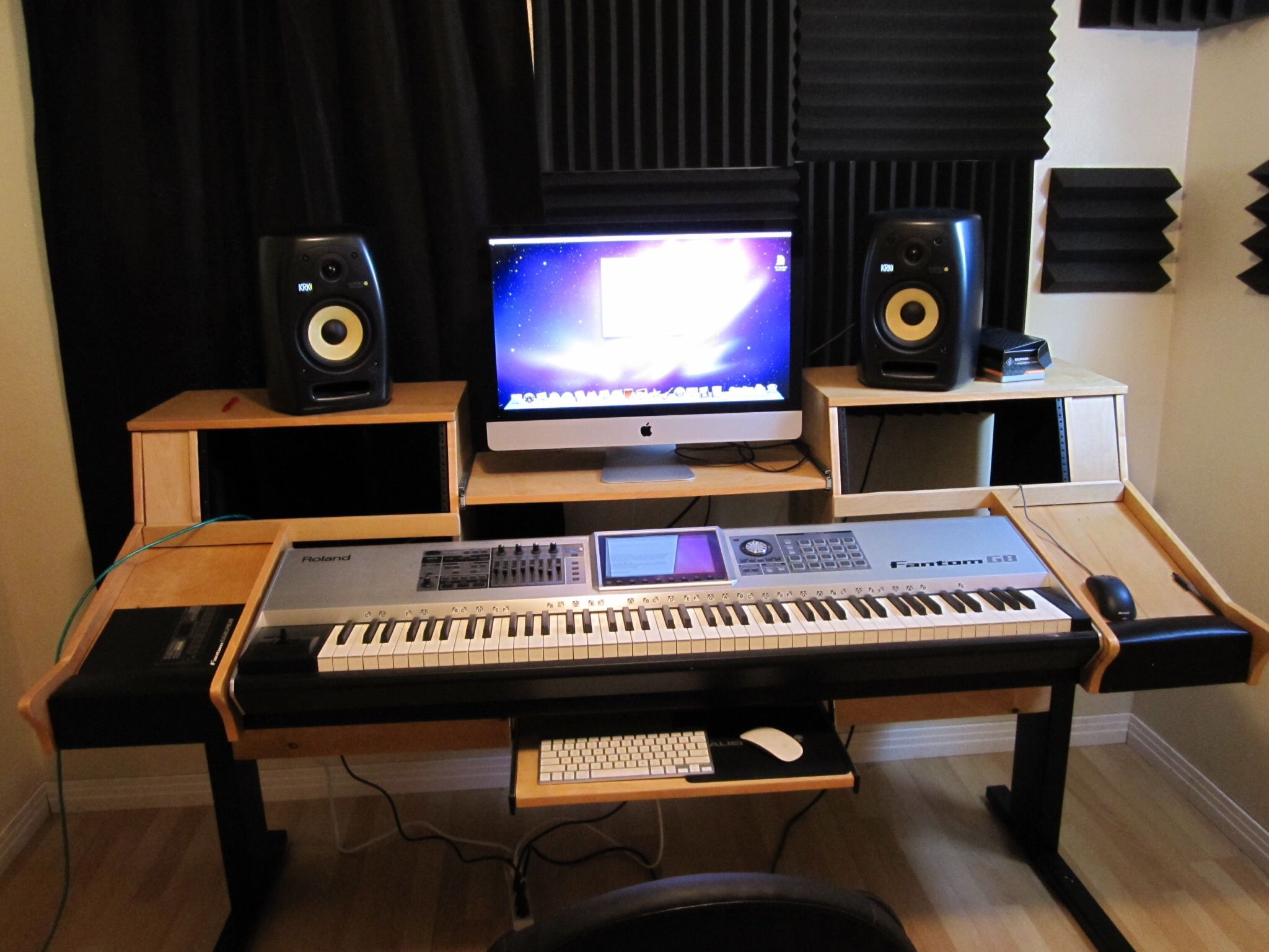Recording Desk Recording Studio Desk Recording Studio Design Recording Studio