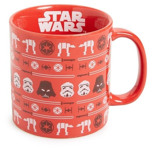 Dining Kitchen Oz Okinawa: Vandor Star Wars Christmas Mug Found On Polyvore Featuring
